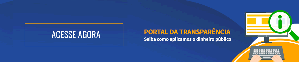 Banner Acesse Portal da Transparência